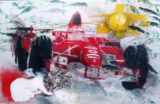 F1 series - Ferrari Process 2 by A. Uranga
