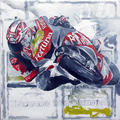 Moto GP Series - Assaulting the curve by A. Uranga