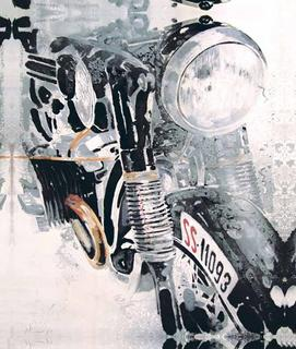 Motorbikes Series BMW by A. Uranga