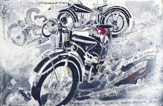 Motorbikes Series BMW by A. Uranga