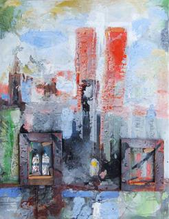 NY Series - Twin Towers by A. Uranga