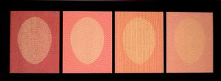 Four Pink Ovals by James Goodwill