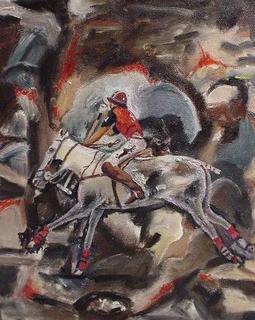 Polo Player IX by Gustavo López-Cobo