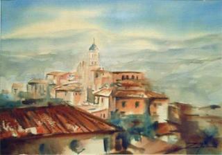 Silos Wiew by Zafra