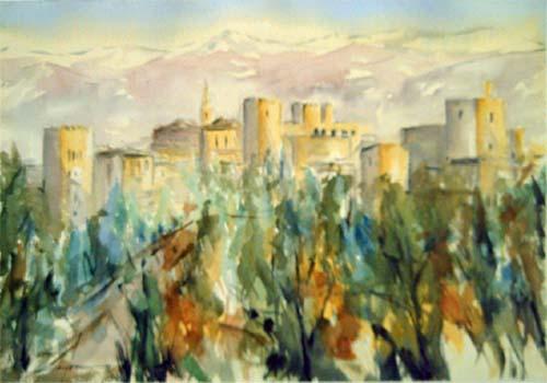 Granada's  Alhambra by Zafra