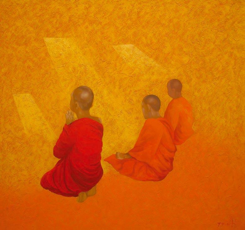TB32 Monk by Vu Thai  Binh