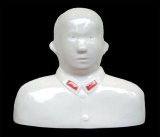 White, bareheaded by Shen Jingdong