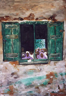 Nigerian Muslim School by Alpasky