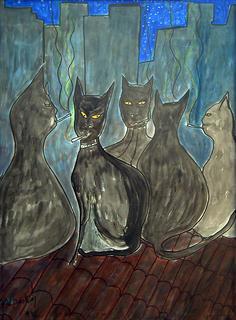 Smokers Cats by Alpasky