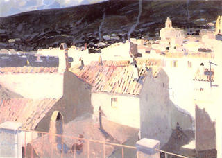 Winter in Cadaques by Luis Amer