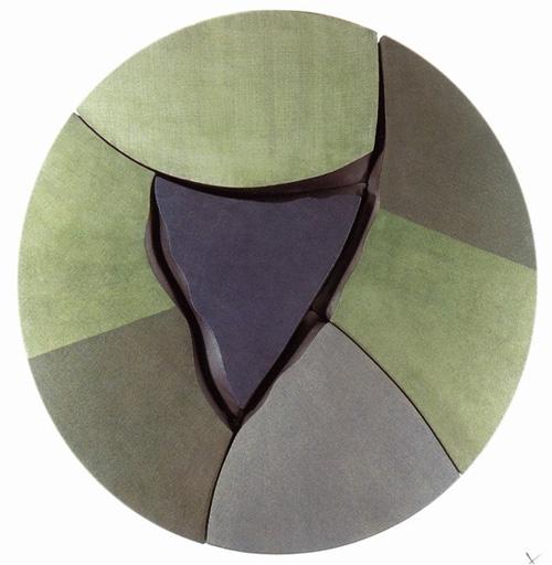 Presence / Green by Carmen Anzano
