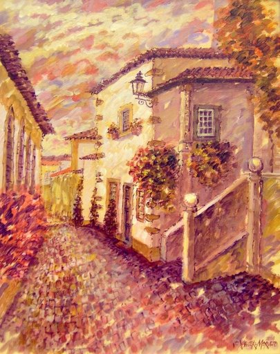 Obidos Typical House by Jorge Xavier Morato