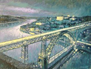 Oporto the Duero by Jorge Xavier Morato