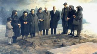 The Burial by Aldo Bahamonde