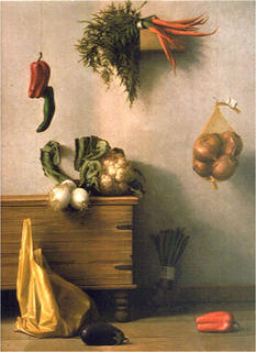 Vegetables Still-life by Aldo Bahamonde