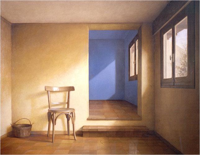 Interior with no Figure by Aldo Bahamonde