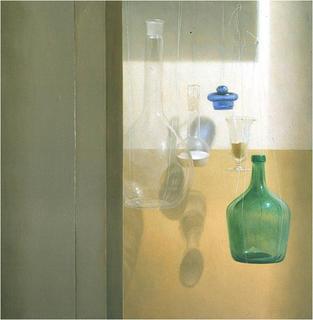 Bottles Still life by Aldo Bahamonde