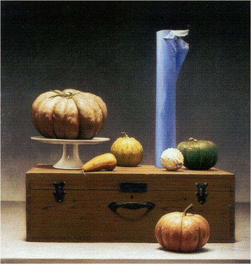 Pumpkins Still life by Aldo Bahamonde