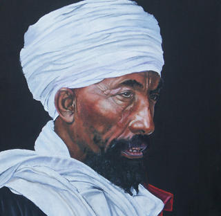 Ethiopian Priest by Hilary Dunne