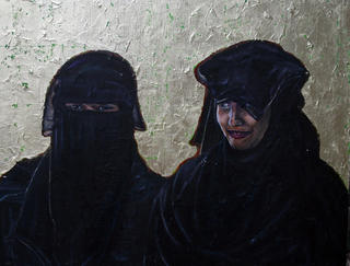 Yemeni Girls by Hilary Dunne