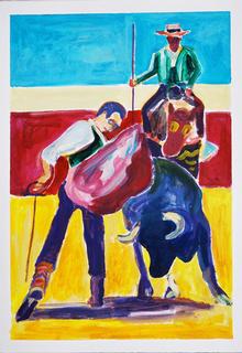 Fighting by Gregorio Gigorro