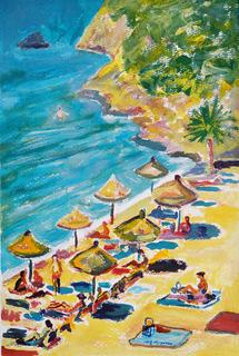 Beach by Gregorio Gigorro