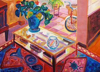 Interior with Fishbowl by Gregorio Gigorro
