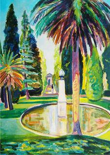 Botanical Garden by Gregorio Gigorro
