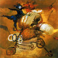 Acrobat by Manuel Elices
