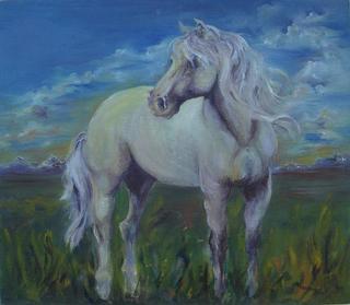 Horse by María Cristina Misiunas