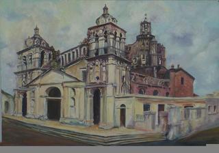 Cathedral Córdoba by María Cristina Misiunas