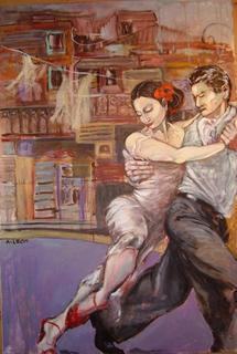 Neighborhood Tango by Ana León