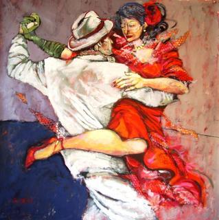 Milongueando by Ana León