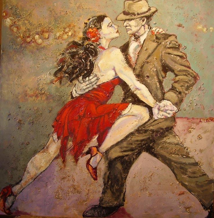 Tango Lights by Ana León