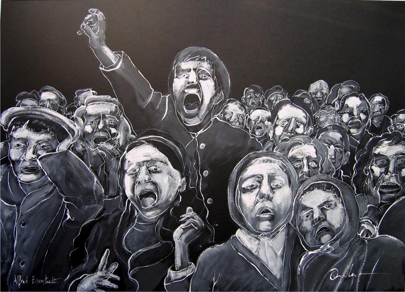 Puppets (Albert Eisenstein Homage) by Vicente Quiles