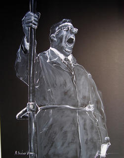 R. Bram (Man Yawning) by Vicente Quiles
