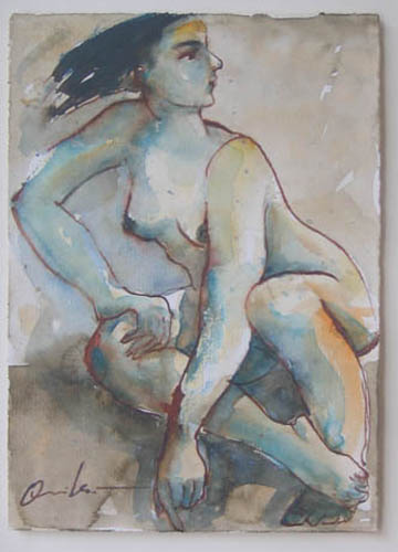 Nude by Vicente Quiles