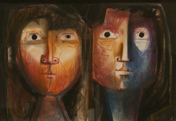 Feminine Faces by Oriol Balmes
