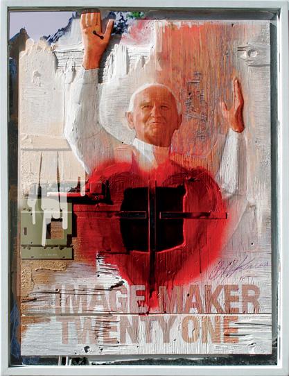 Image 21 - John Paul II - ImageMaker Twenty one by Cliff Kearns