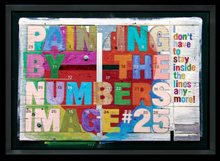 Image 25 - Painting by Numbers - Original by Cliff Kearns