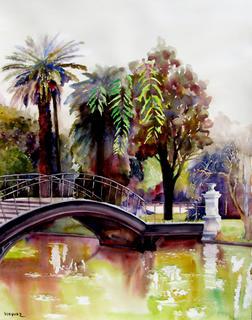 Bridge to the Paradise by Enrique Pablo Vázquez