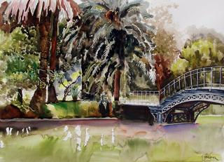 Solitary Bridge by Enrique Pablo Vázquez