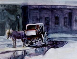 Carriage by Enrique Pablo Vázquez