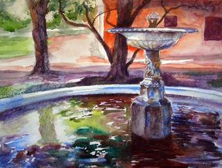 Evening Reflected by Enrique Pablo Vázquez