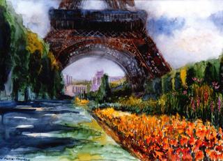 Torre Eiffel by Enrique Pablo Vázquez