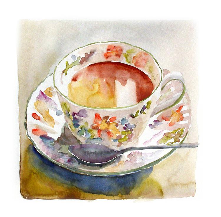 Tea for One by Enrique Pablo Vázquez