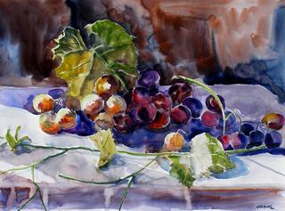 Prunes and Grapes by Enrique Pablo Vázquez