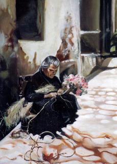 The Old Woman (Replica) by Horacio Gurdiel