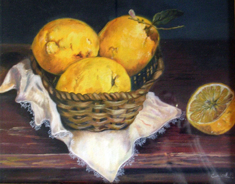 Table with Lemons by Horacio Gurdiel