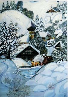 Winter Landscape (Replica) by Horacio Gurdiel